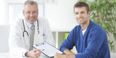 Österreichs Männer gehen nicht zum Arzt