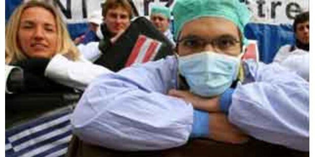 Ärzte beraten über weiteres Vorgehen