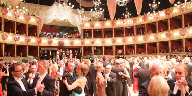 Opernballdemo gegen