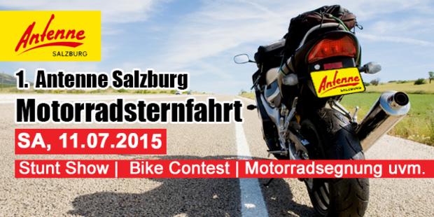 1. Antenne Salzburg Motorradsternfahrt