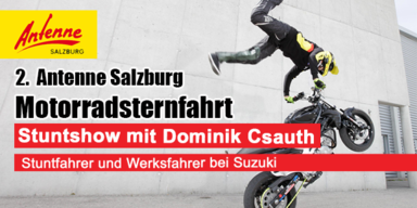 Stuntshow mit Dominik Csauth