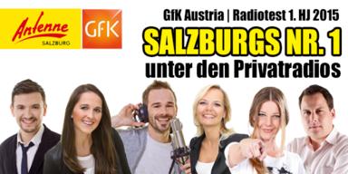 Antenne Salzburg behauptet seine Nummer 1 Position!