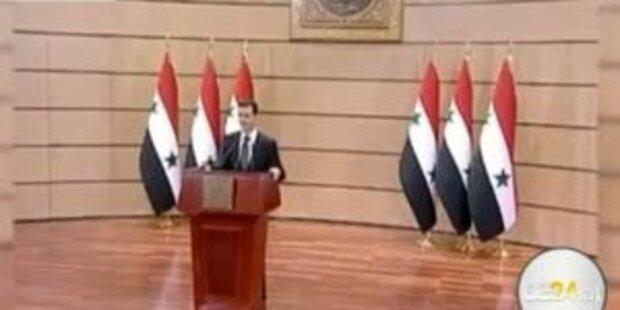 Assad-Regime geht weiter mit Gewalt vor
