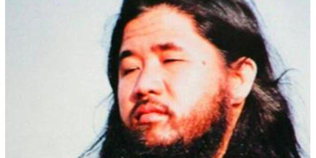 Sekten-Chef Asahara will neuen Prozess