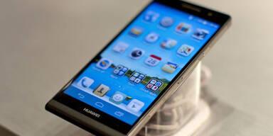 Huawei bringt dünnstes Smartphone der Welt