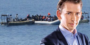 """Kurz: """"Derzeitiges Flüchtlings-System muss geändert werden"""""""