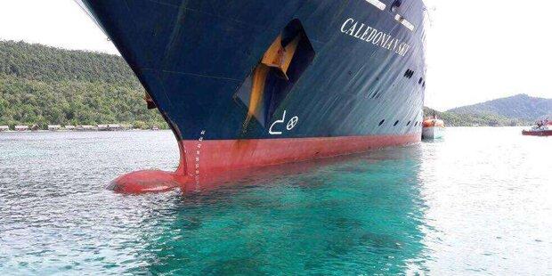 Kreuzfahrtschiff zerstört einzigartiges Unterwasser-Juwel