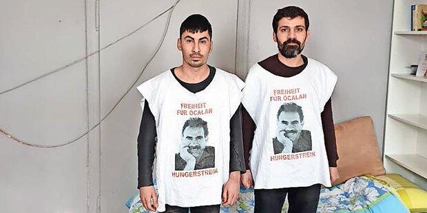 Wien: Zwei Kurden im Todes-Hungerstreik
