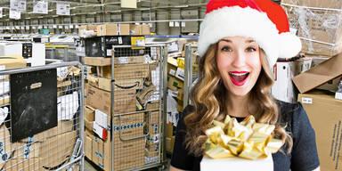 Pakete Weihnachten