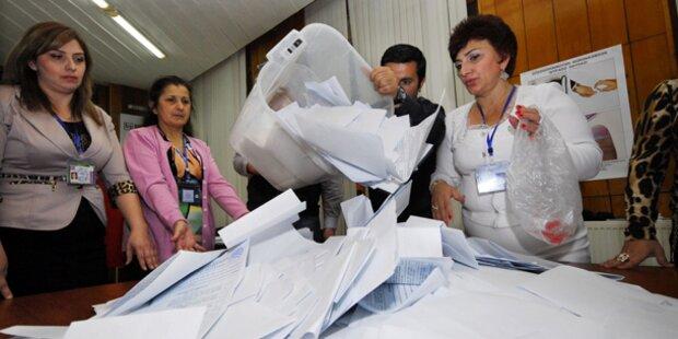 Aserbaidschan-Wahl war undemokratisch