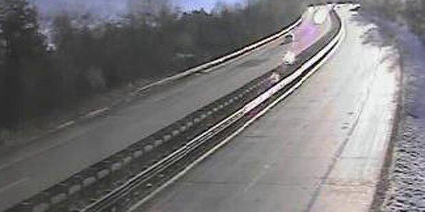 Tauernautobahn nach Unfall gesperrt