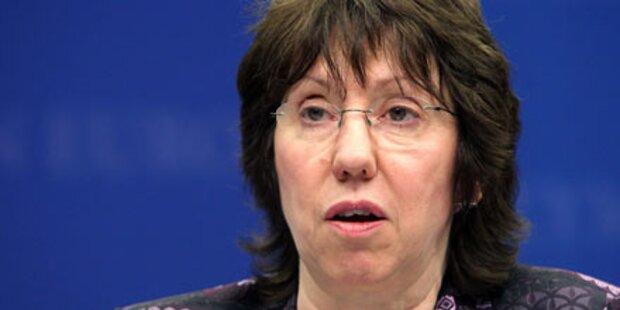 Ashton schickt EU-Militär nach Haiti