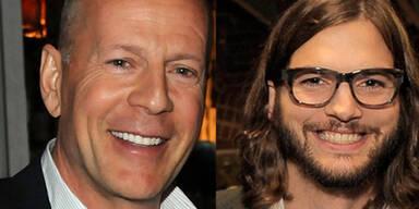 Ashton Kutcher, Bruce Willis