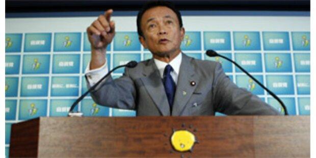 Aso will Regierungsgeschäfte in Japan übernehmen