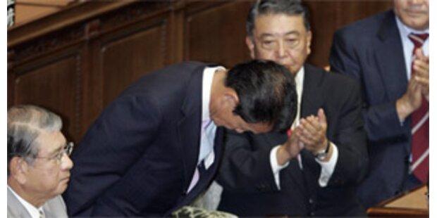 Taro Aso neue Japanischer Premier