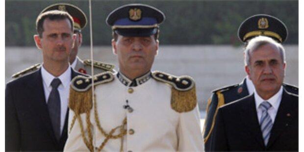 Syrien-Libanon vereinbaren diplomatische Gespräche