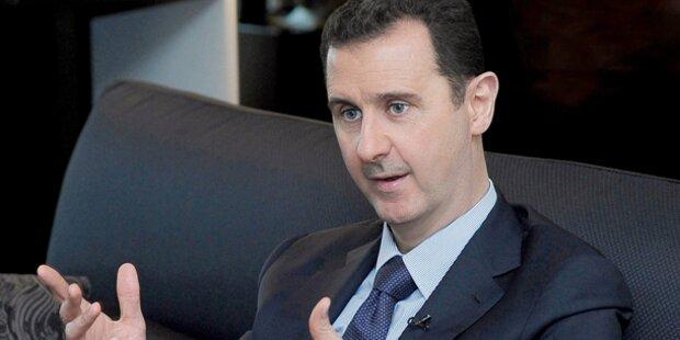 Assad dementiert Atomwaffen-Bericht