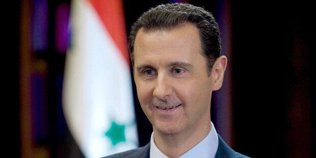 Assad scherzt über 210.000 Tote