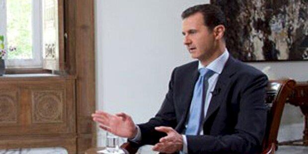 Frankreich will mit Assad weitermachen