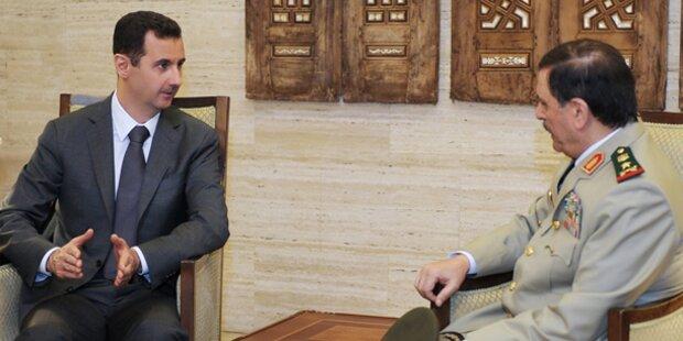 Syrien: Assad ist in Damaskus