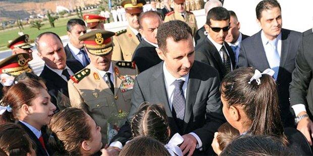 Assad nimmt seine Kinder aus der Schule