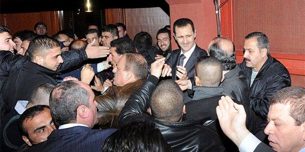 Syrien: Ban von Assad-Rede