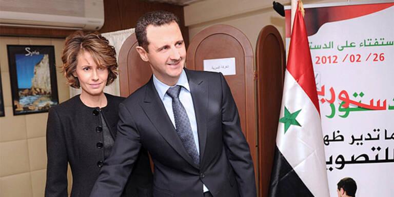 EU verhängt neue Sanktionen gegen Assad