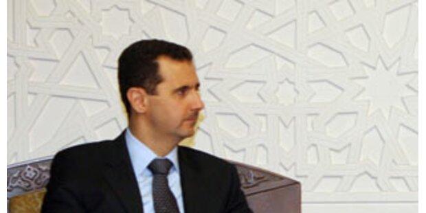 USA verhängen Sanktionen gegen Assad