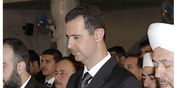Syrien ändert Kurs in der Libanon-Krise