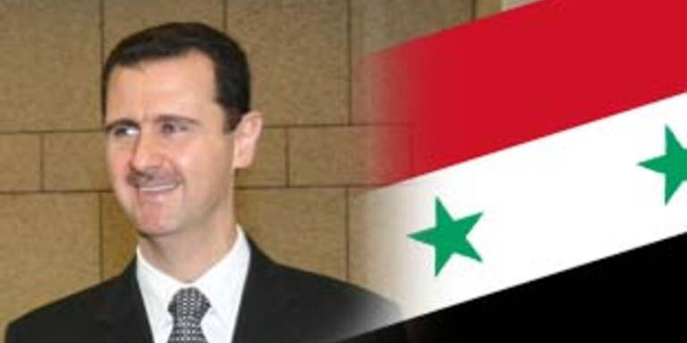 EU-Sanktionen gegen Syrien beschlossen