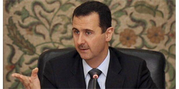 Syriens Präsident lässt Volk für Regen beten