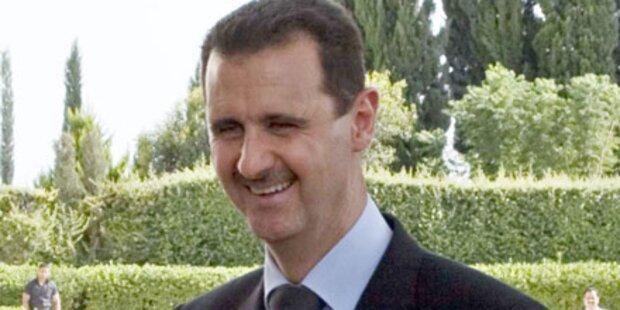 Assad erstmals seit Hariri-Tod in Beirut