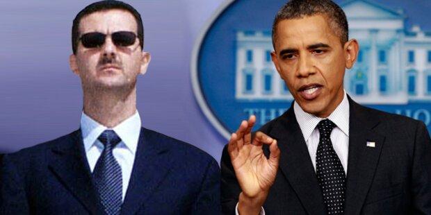 Assad ohne Angst vor Obamas