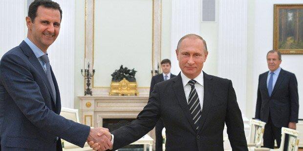 Assad: Russland hat sich nie eingemischt