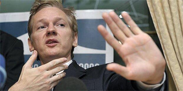 WikiLeaks-Boss wegen Sex in Haft