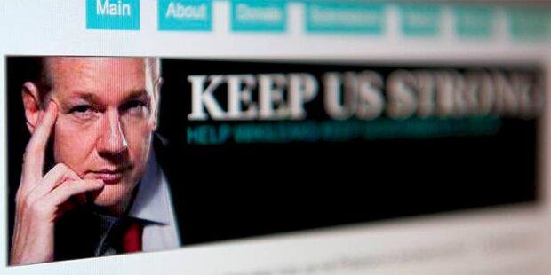 Wikileaks geht das Geld aus