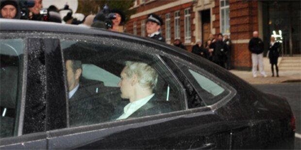 Milliardärin kauft Julian Assange frei