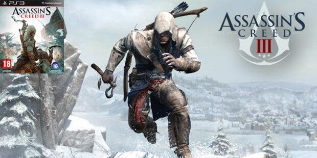 Assassin's Creed III ab sofort erhältlich