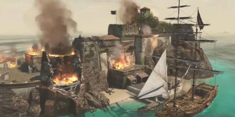 Assassin's Creed IV setzt die Segel