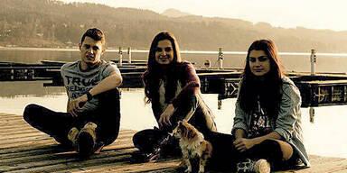 Bettina Assinger zeigt ihre Kinder