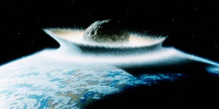 Weltuntergangs-Meteorit hat Erde verfehlt