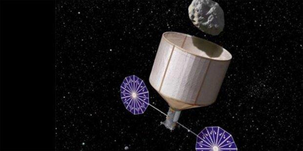 Roboter-Raumschiff soll Asteroiden fangen