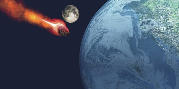 Großer Asteroid nähert sich Ende Jänner