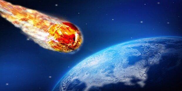 Mega-Asteroid auf Kollisionskurs mit der Erde