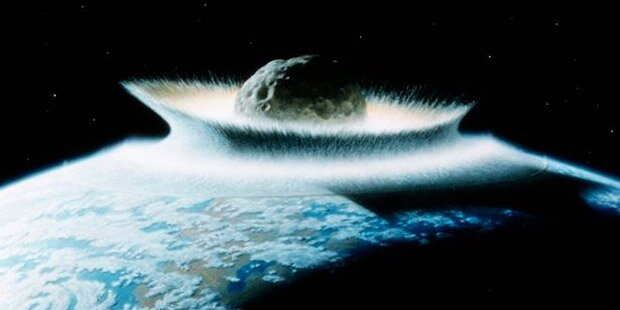 Mega-Asteroid löscht Menschheit aus