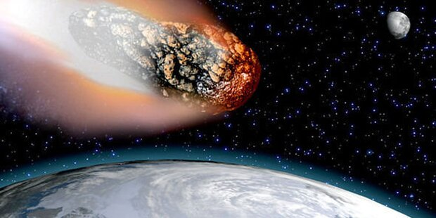 Mega-Asteroid schrammt an Erde vorbei