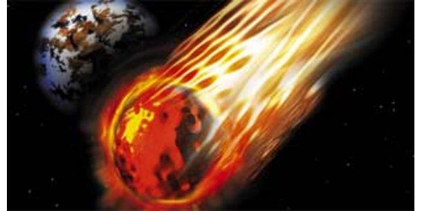 Asteroiden-Duo rast mit 45.000 km/h an Erde vorbei