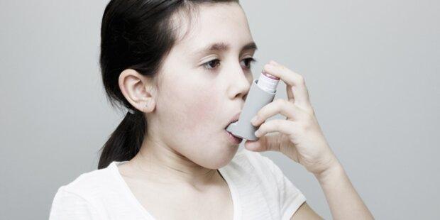 Asthma häufigste chronische Erkrankung