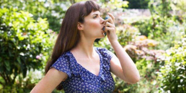 Vom Heuschnupfen zu Asthma