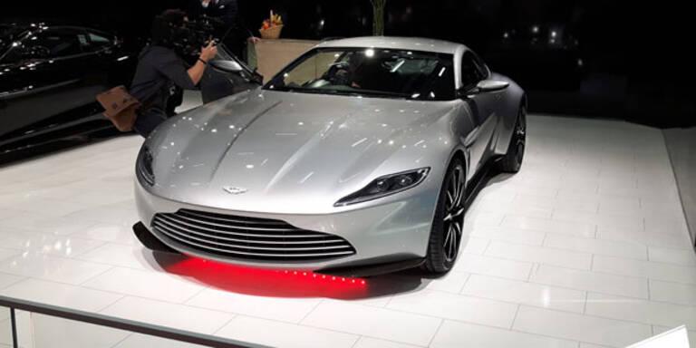 Bond-Auto kommt unter den Hammer